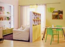Зонирование пространства и мебель