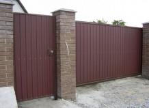 Современные откатные ворота