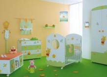 Зеленая детская – одно из самых лучших решений