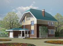 Проект дома для загородного отдыха