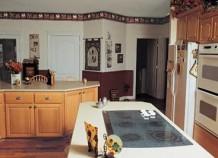 Как грамотно подобрать цвет кухонных обоев?