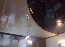 Врезные светильники для натяжных потолков