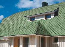 Гибкая черепица – самое лучшее, что можно найти для крыши дома