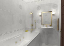 Как создать комфорт в маленькой ванной комнате?