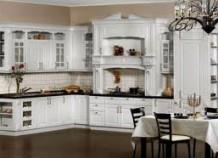 Белая – королева среди кухонь
