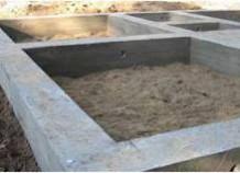 Фундамент лента, область применения