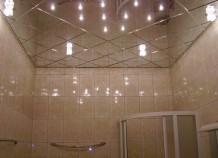 Зеркальный потолок – эффектный элемент интерьера