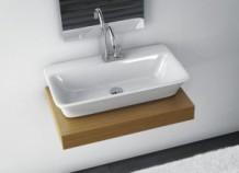 Накладные раковины в интерьере ванной комнаты